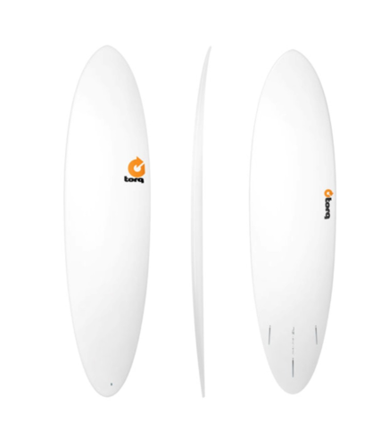 Torq 6.8 Funboard White