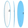 Torq 7.2 Funboard White Blue